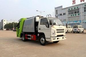 江铃顺达国六压缩式垃圾车图片