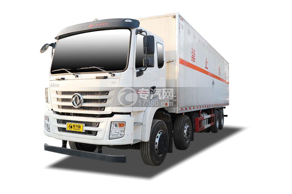 东风锦程V6前四后八国六9.5米杂项危险物品厢式运输车