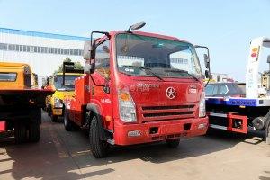 大运奥普力3550轴距国五拖吊联体清障车(红色)图片