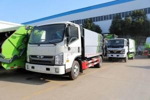 福田时代H2国六自装卸式垃圾车图片