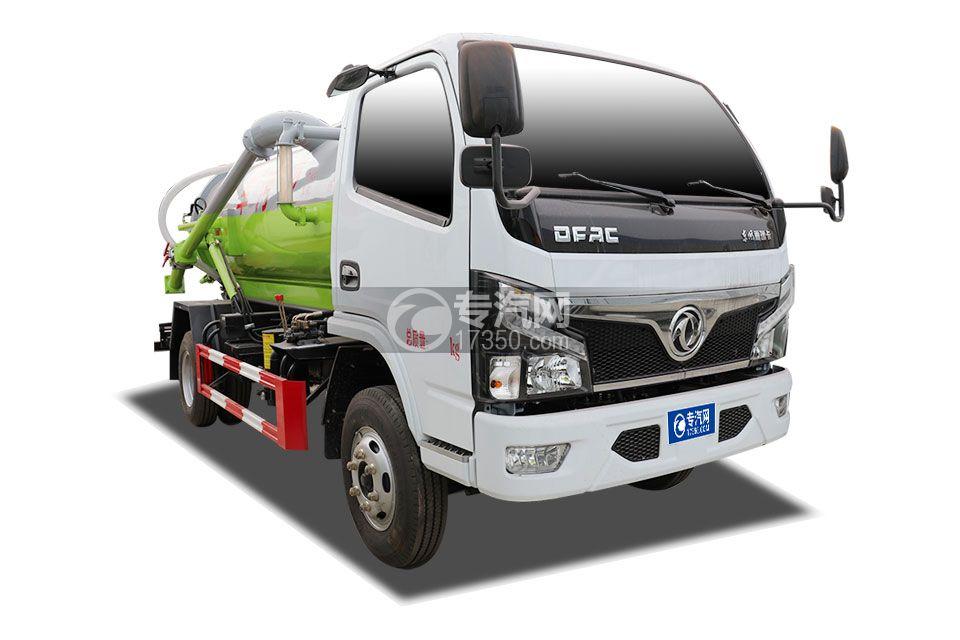 东风福瑞卡F6国六3.75方吸污车