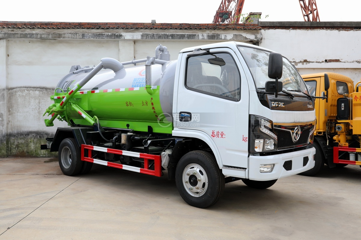 东风福瑞卡F6国六3.75方吸污车图片