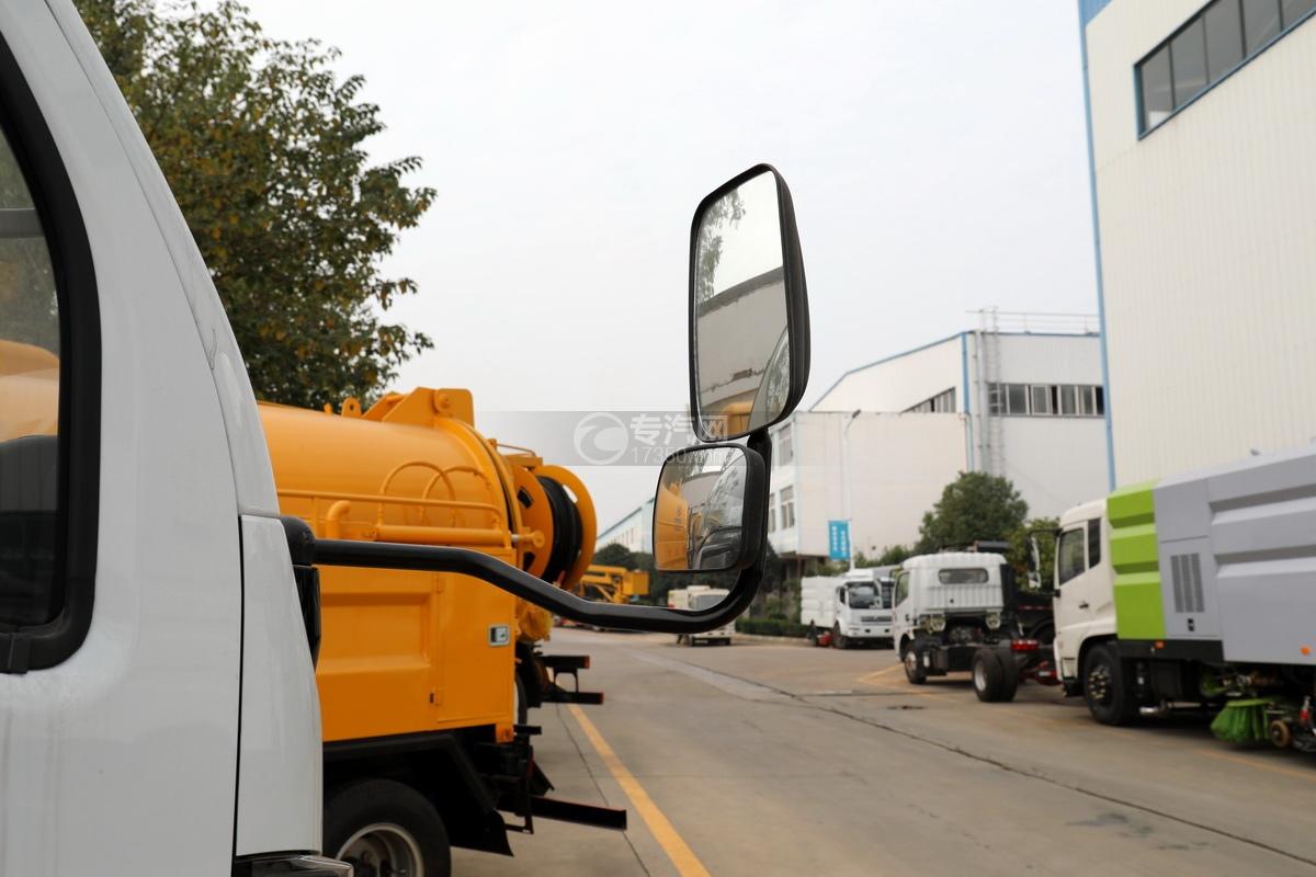 东风福瑞卡F6国六3.75方吸污车后视镜