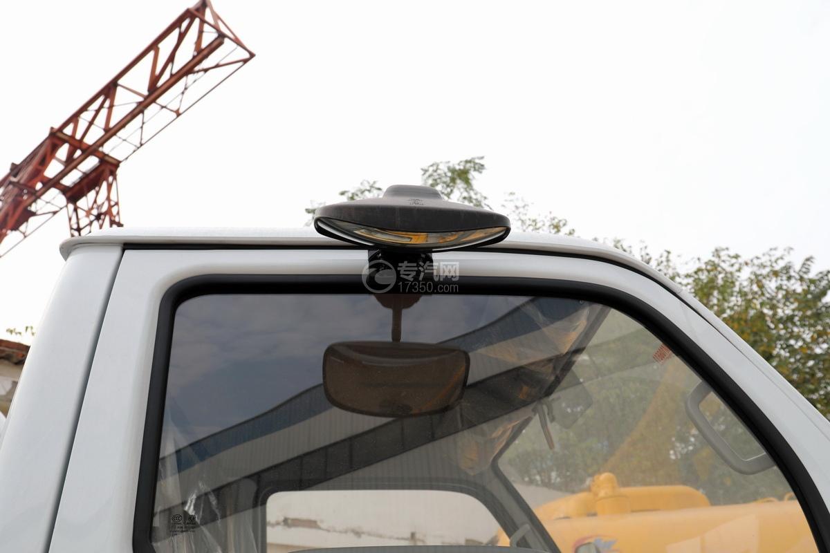 东风福瑞卡F6国六3.75方吸污车照地镜