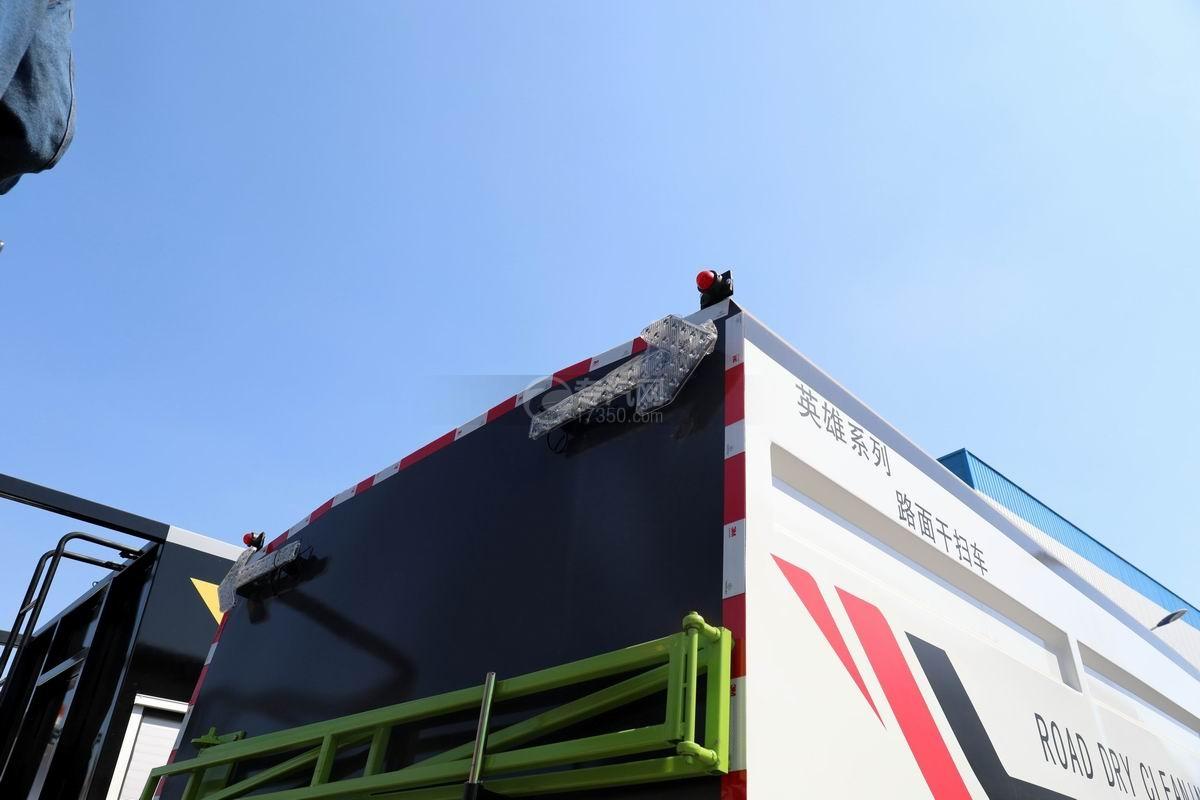 解放J6L国六吸尘车LED尾部箭头灯