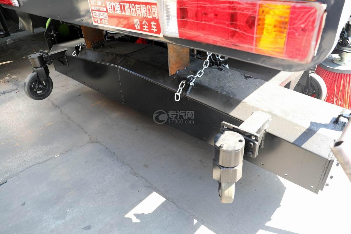解放J6L国六吸尘车上装吸尘盘