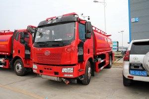 解放J6L單橋國五14.7方加油車(紅色)圖片