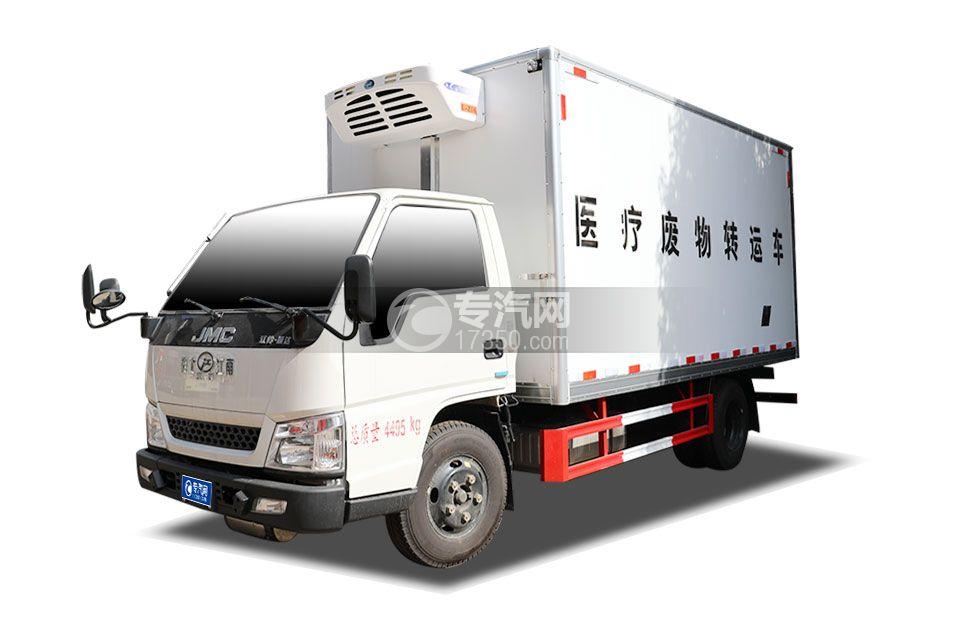 江鈴順達國五4.05米醫療廢物運輸車