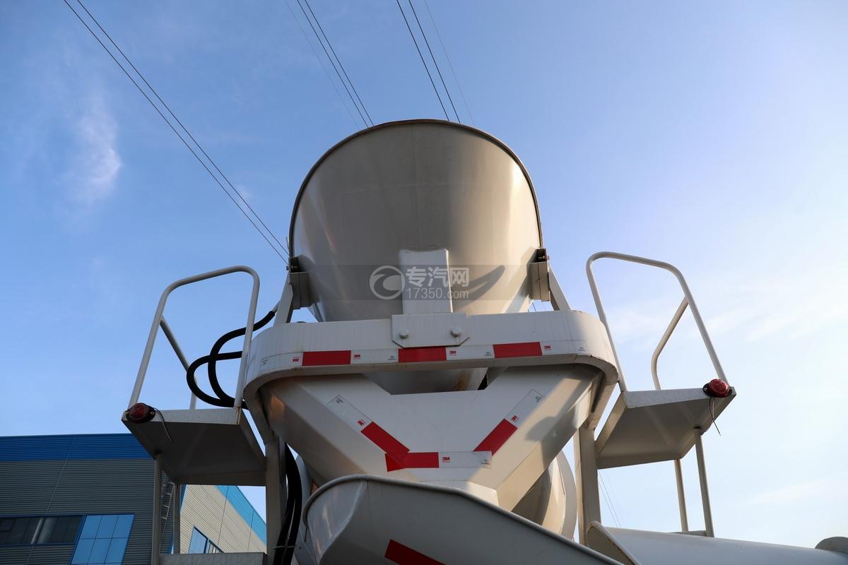 东风福瑞卡F7国六3.98方搅拌车进出料系统