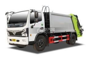 东风福瑞卡F7国六压缩式垃圾车