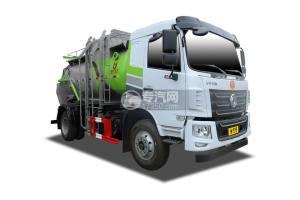 东风华神KL5国六餐厨式垃圾车