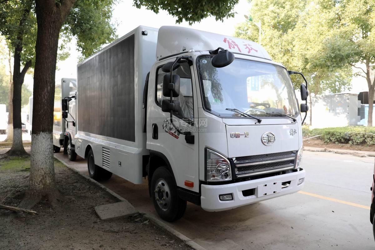 解放虎VN国六LED广告宣传车