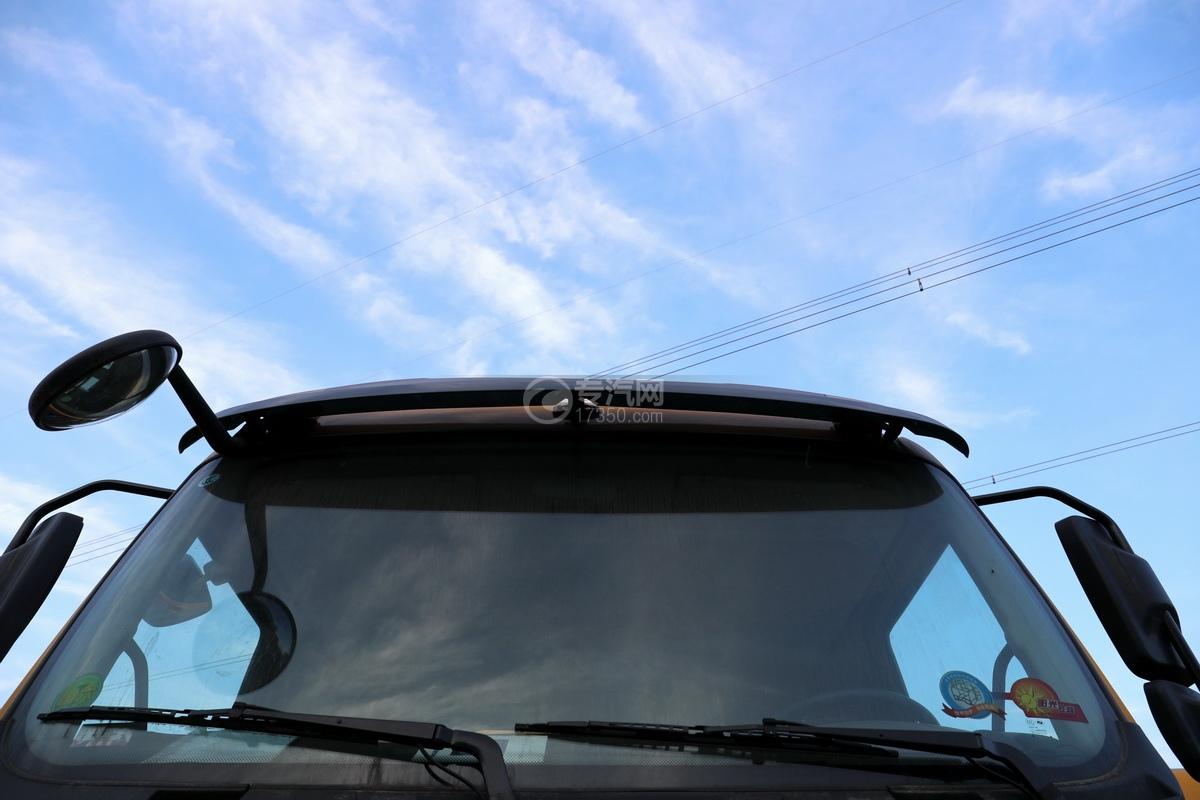 东风柳汽乘龙M3单桥国六12.17方清洗吸污车遮阳罩