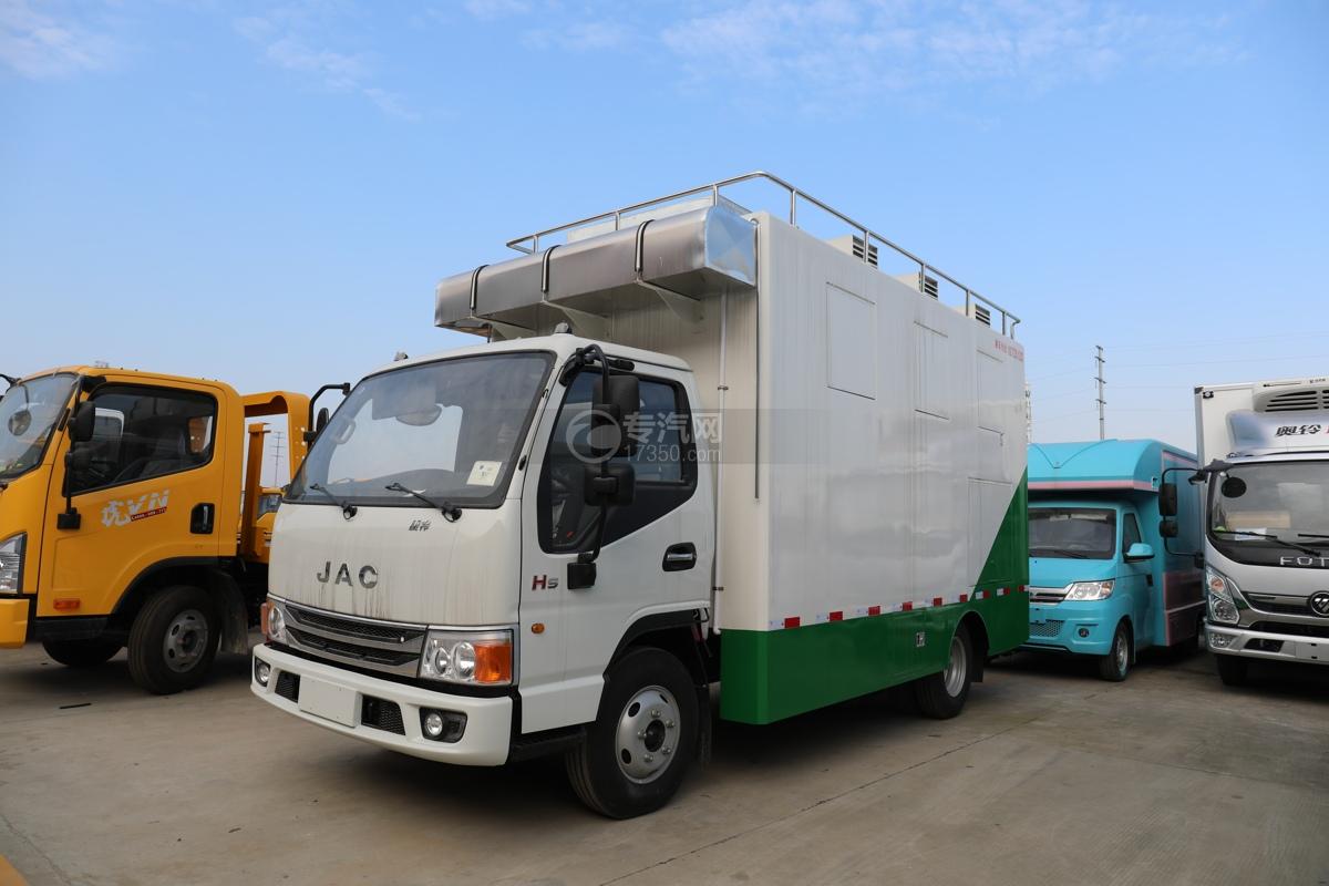江淮康铃H5国六移动餐车图片