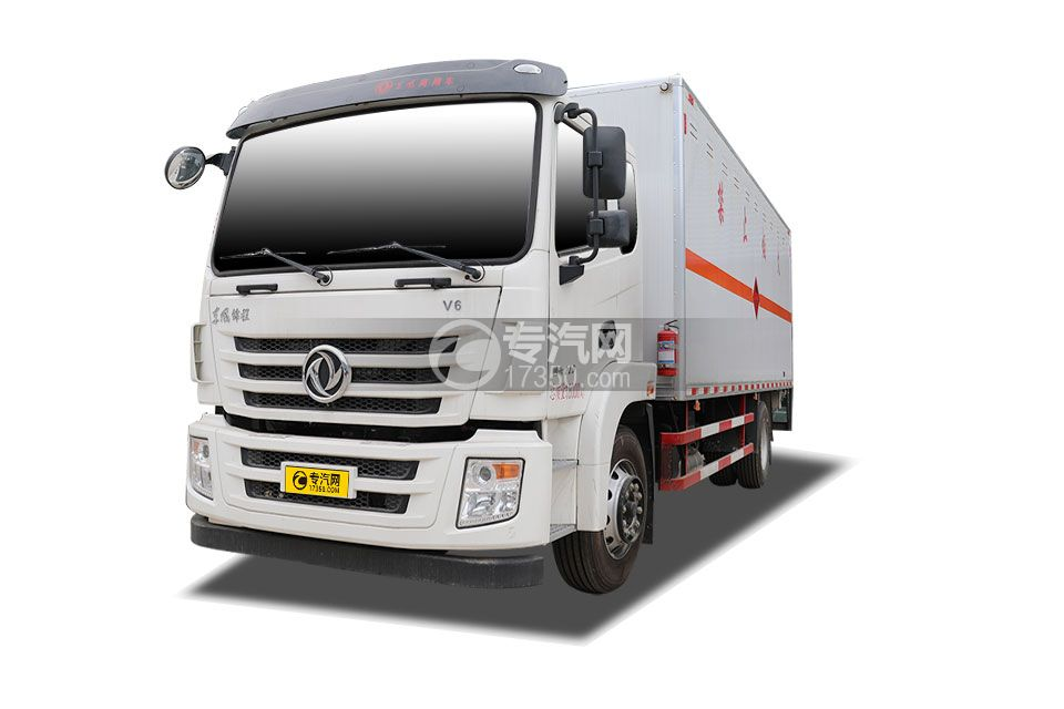 東風錦程V6國六6.8米易燃氣體廂式運輸車