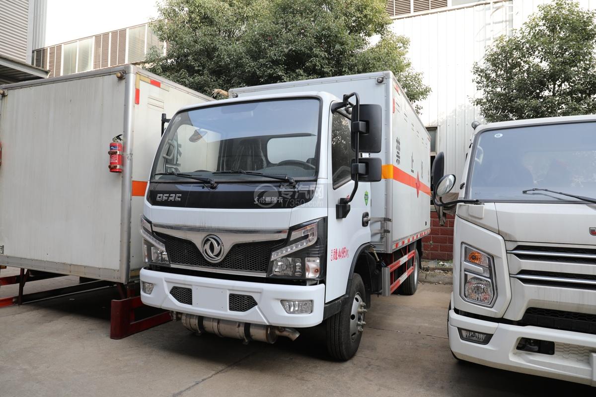 東風福瑞卡F6國六4.1米易燃氣體廂式運輸車