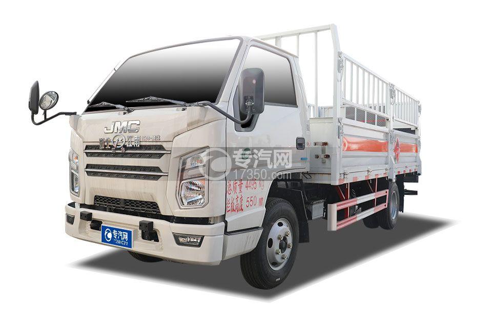 江鈴順達國六4.15米氣瓶運輸車(倉欄式)