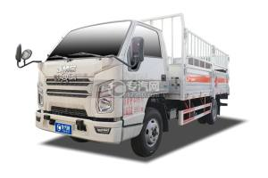 江铃顺达国六4.15米气瓶运输车(仓栏式)