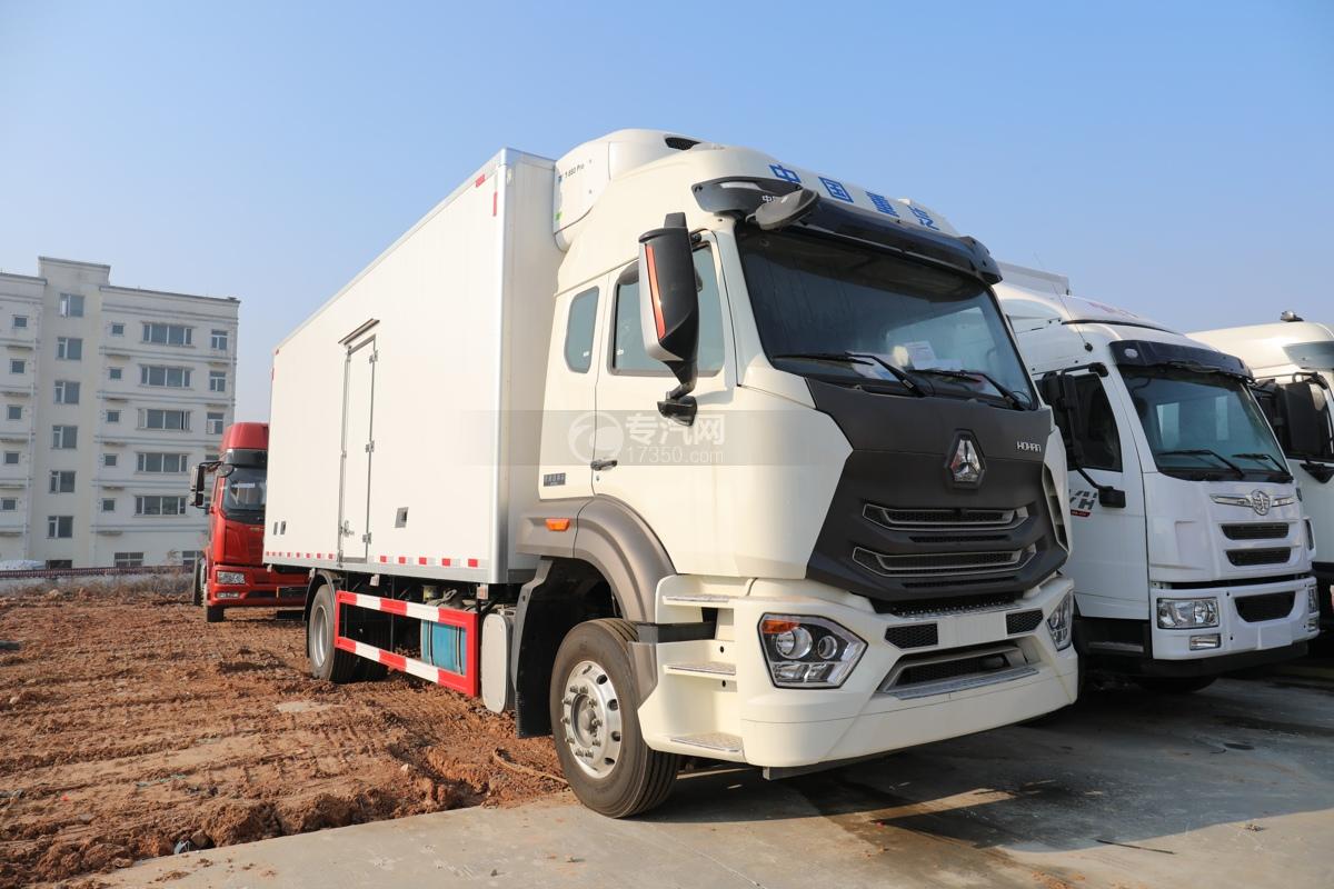 重汽豪瀚N5G國五6.2米冷藏車