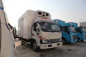 江淮骏铃V6国六蓝牌冷藏车图片