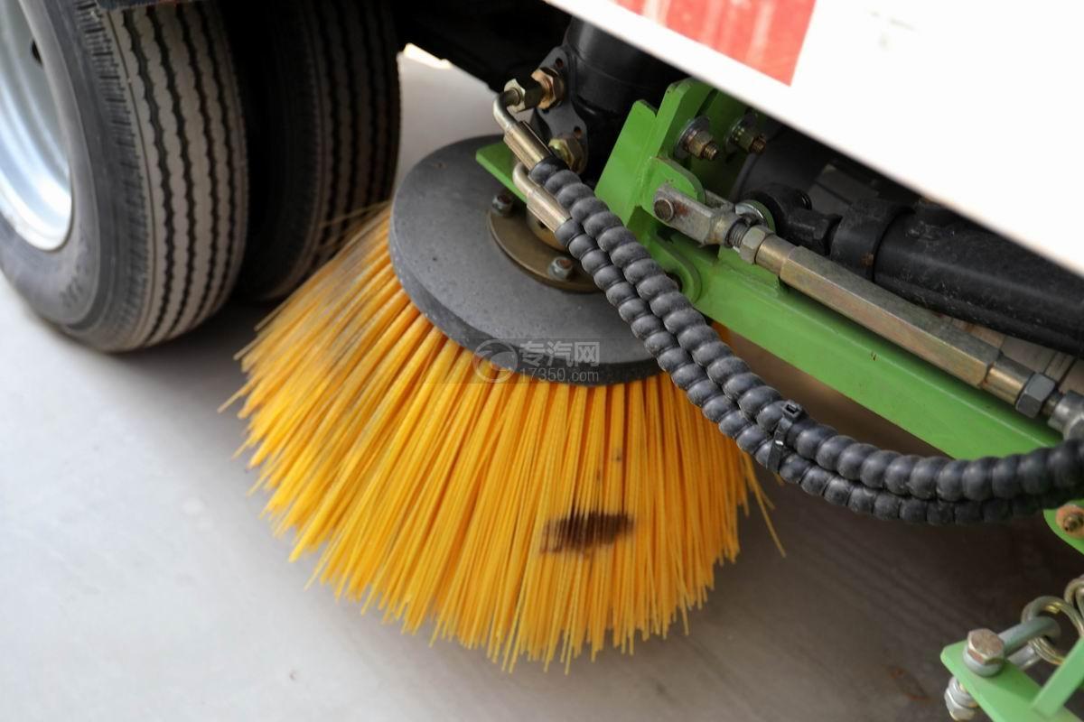 福田時代小卡之星國六掃路車掃刷