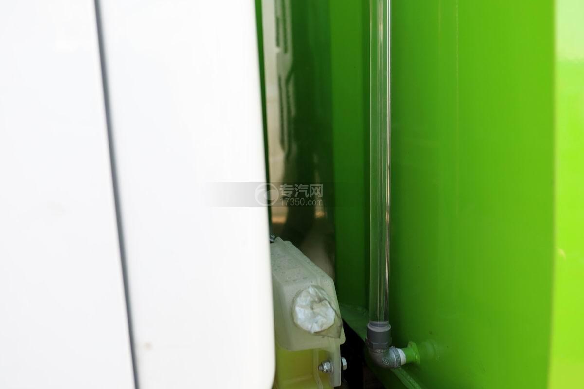 躍進小福星S70國六掃路車水位管