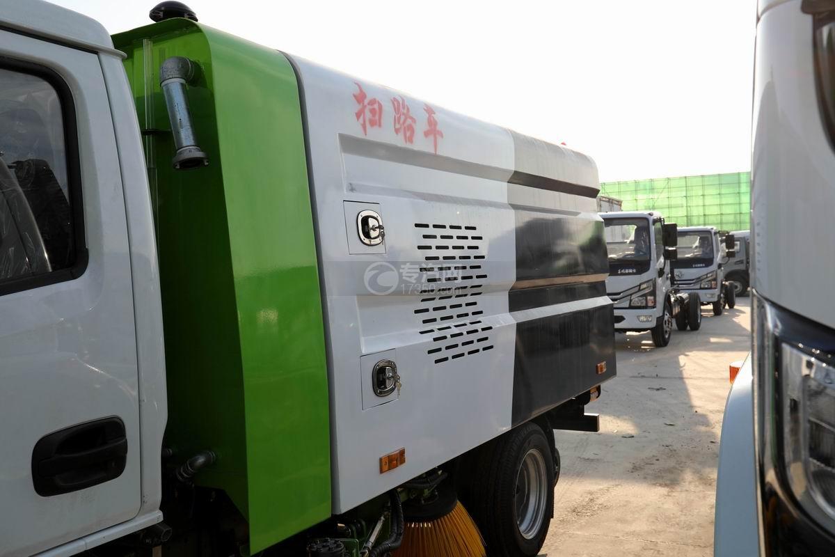 躍進小福星S70國六掃路車上裝箱體
