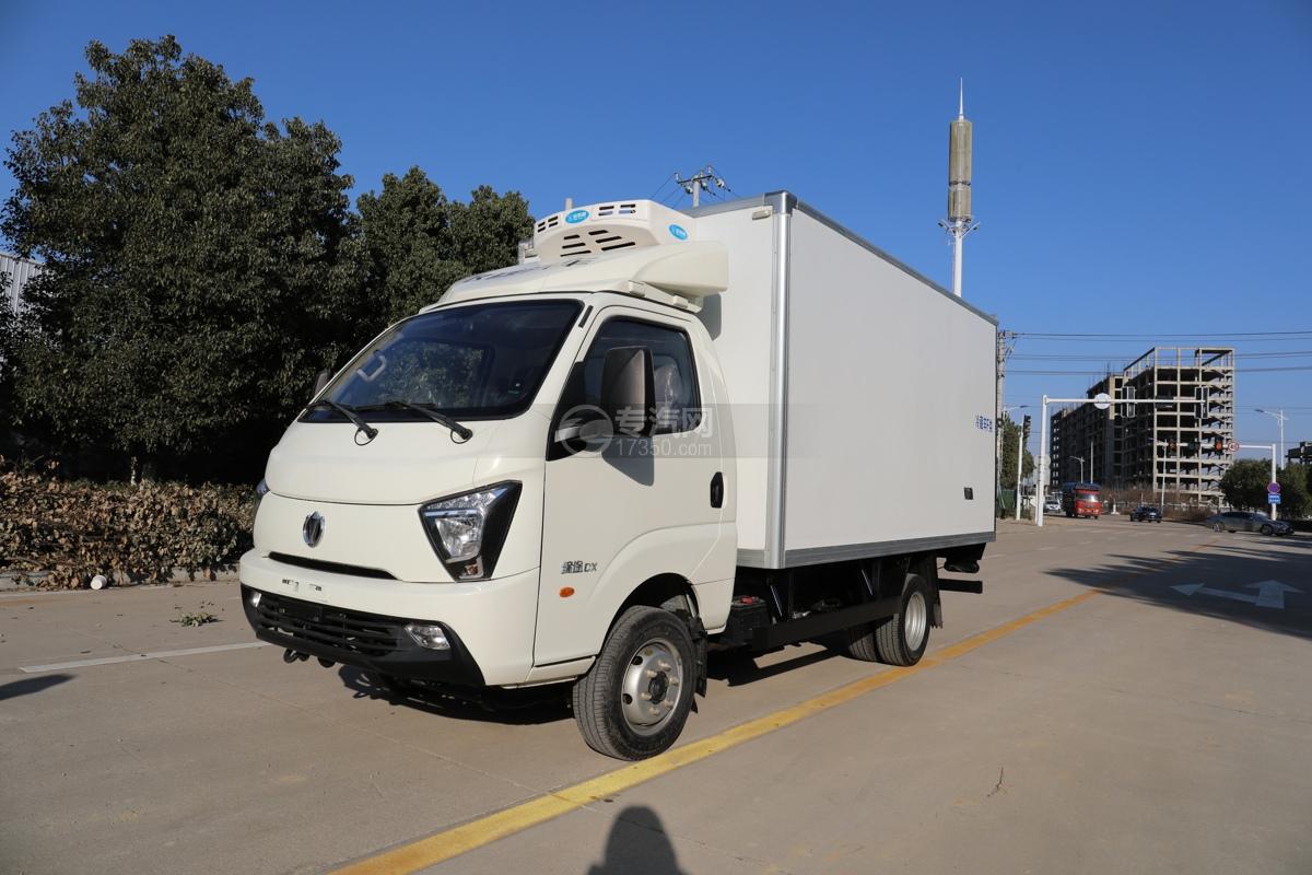 飛碟締途DX國六柴油藍牌3.8米冷藏車圖片