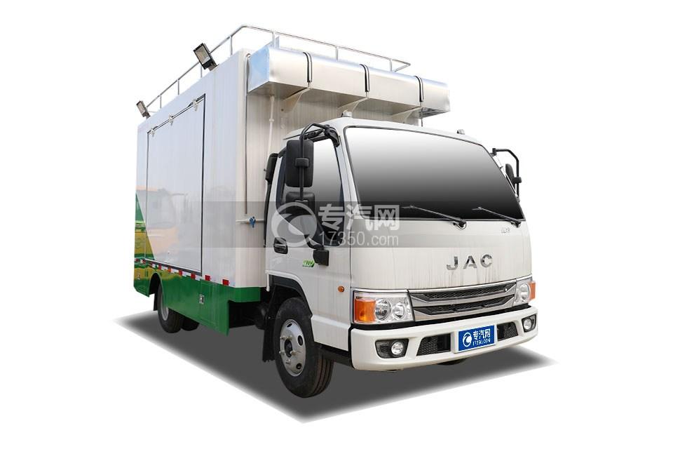 江淮康铃H5国六移动餐车