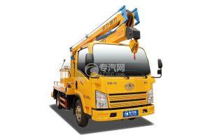 解放虎VR國六13.5米折疊臂式高空作業車