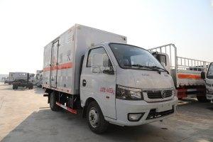 東風途逸國六3.78米易燃氣體廂式運輸車圖片