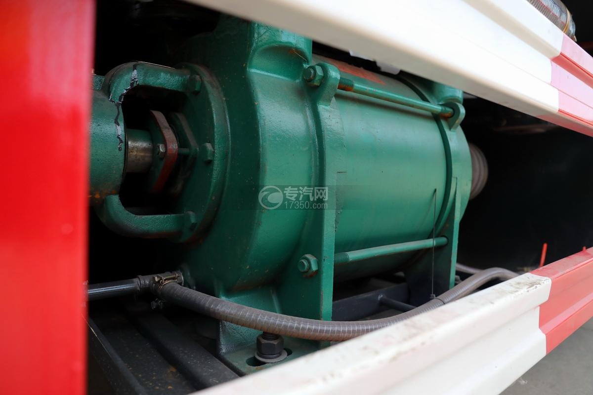 东风多利卡D7国六清洗吸污车吸污泵