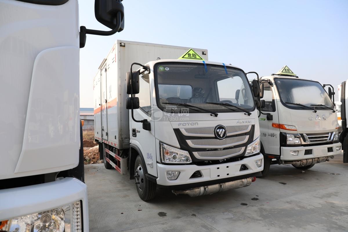 福田歐馬可S1國六4.1米毒性和感染性物品廂式運輸車