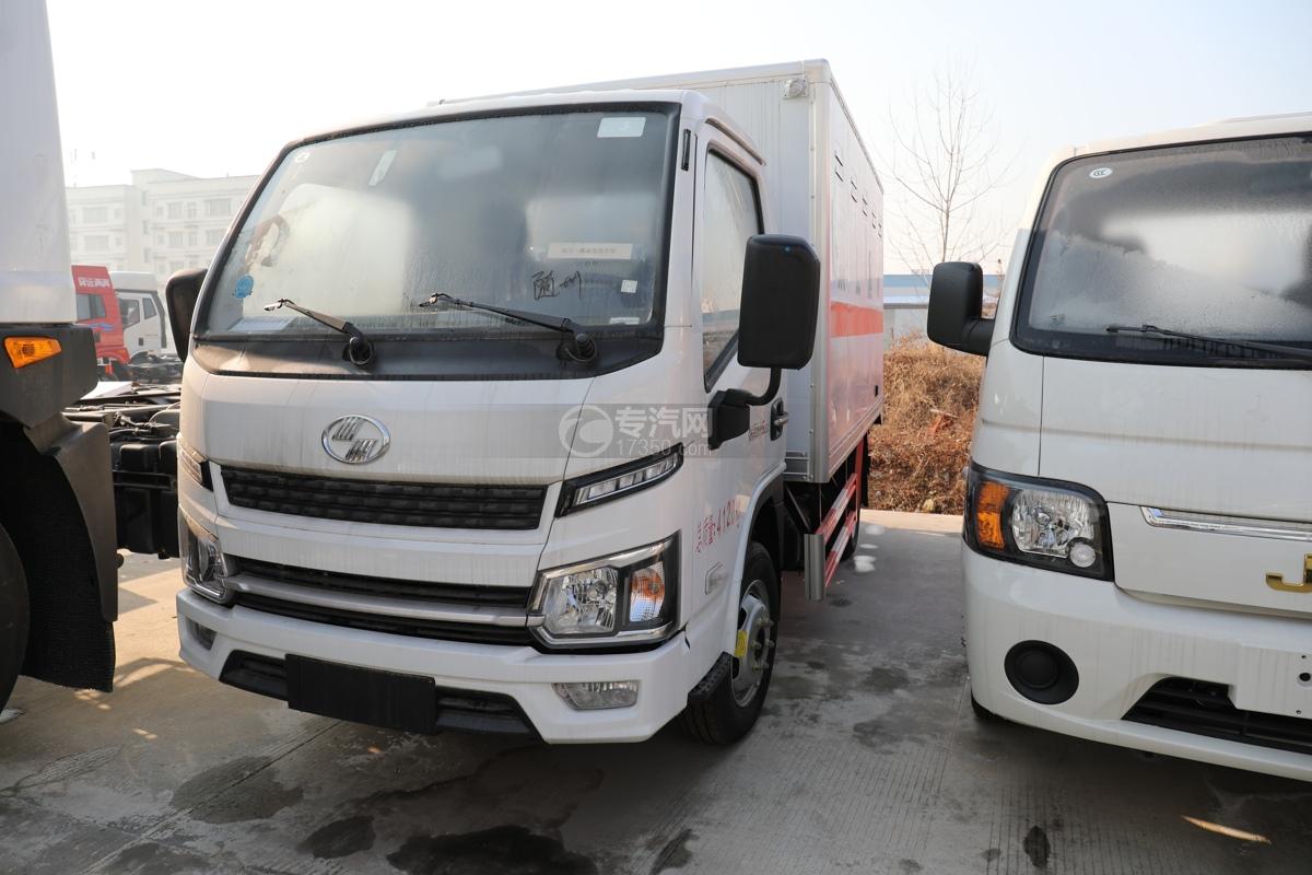 躍進福運S80國六3.4米易燃液體廂式運輸車