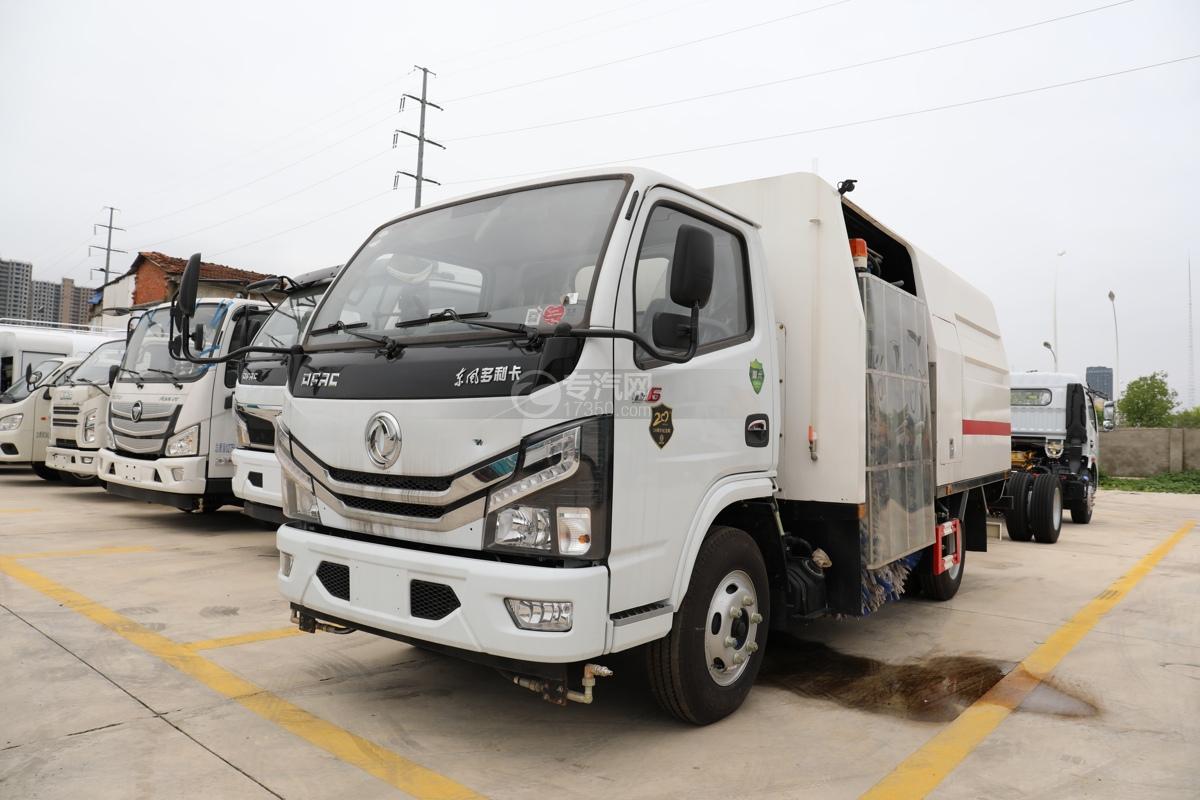 東風多利卡D6國六護欄清洗車(新外觀)