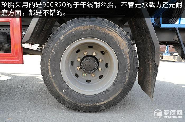 陕汽轩德X9国六9.8方洒水车评测