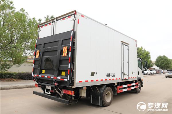 大运祥龙排半国六5.2米冷藏车