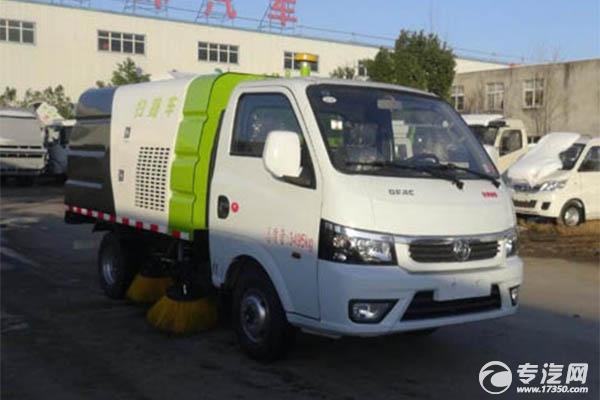 東風途逸微卡國六掃路車,純電動、汽油、柴油你喜歡哪種動力?