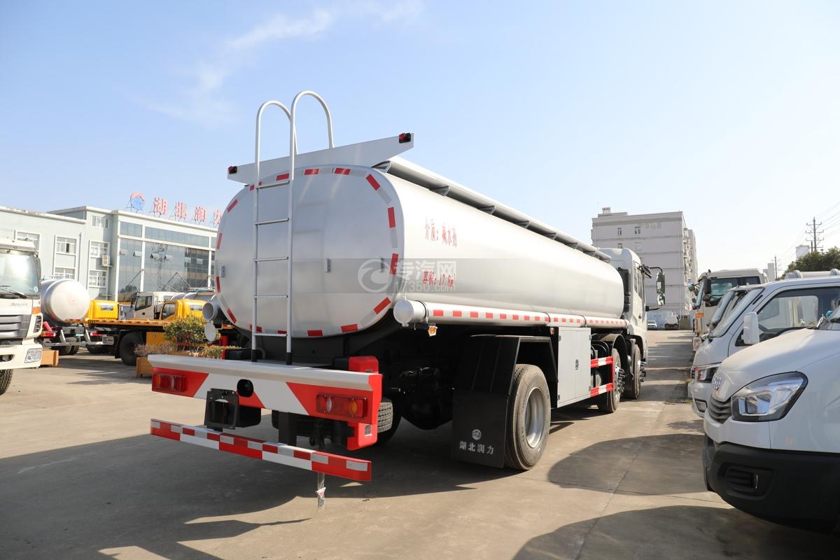 东风天锦VR小三轴17.8方洗井液车右后图