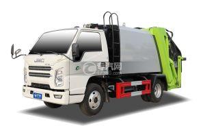 江铃顺达单排国六压缩式垃圾车