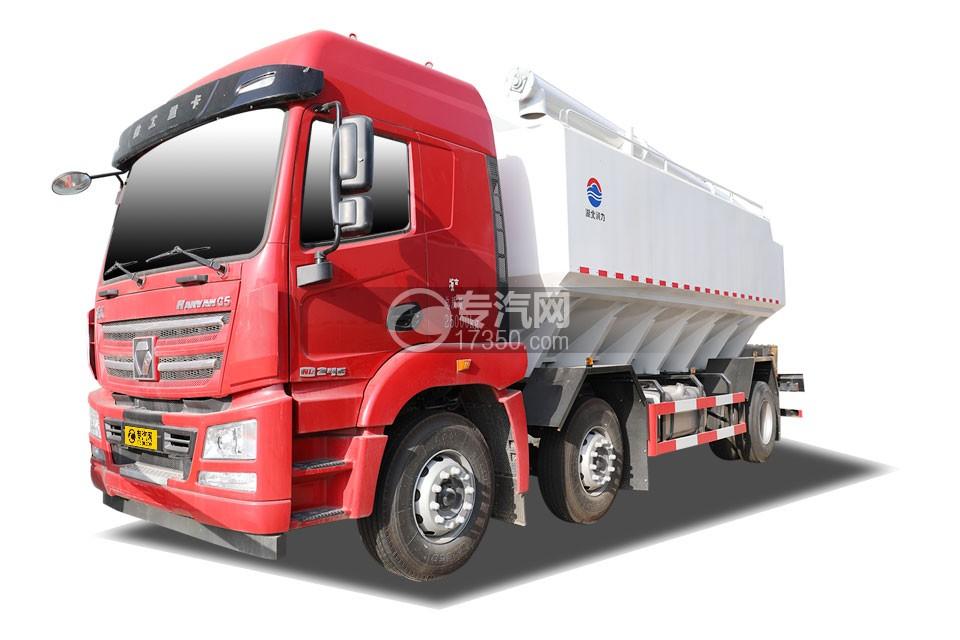 徐工漢風G5小三軸國六散裝飼料運輸車