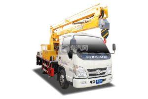 福田時代小卡之星2國六13.5米折疊臂式高空作業車