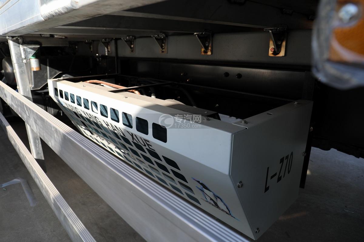 东风柳汽乘龙H5单桥国六铝合金畜禽运输车车载发电机
