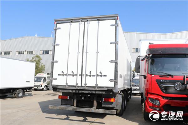 东风天龙KL前四后八国六9.5米冷藏车