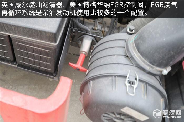 江淮骏铃V3国六4.17方洒水车评测