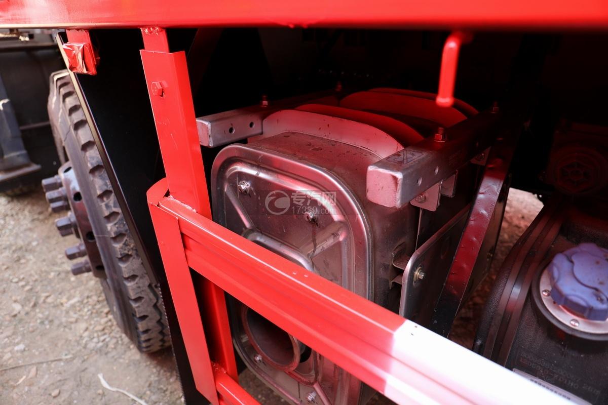 东风天龙前四后八国五徐工12吨直臂随车吊尾气处理装置