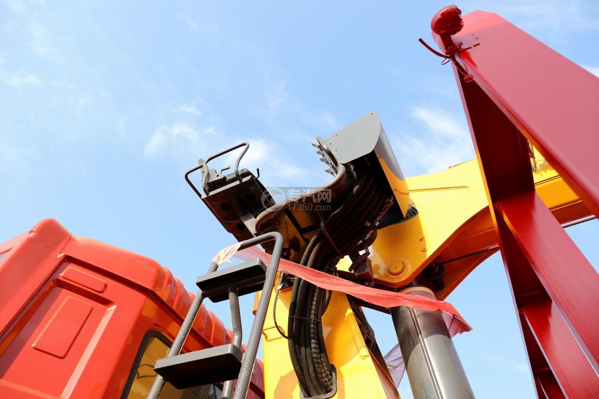 东风天龙前四后八国五徐工12吨直臂随车吊高位座椅
