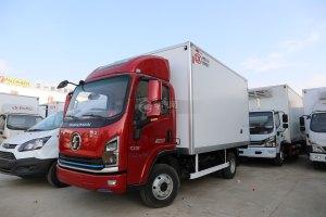 陜汽軒德翼9國六4.15米冷藏車圖片