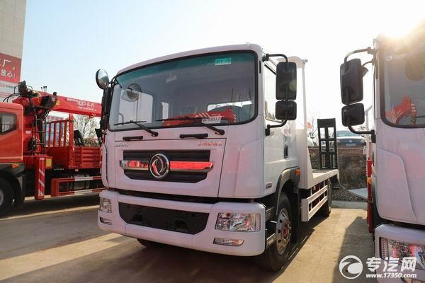 營運環保齊全的東風多利卡D9國六平板運輸車多少錢?