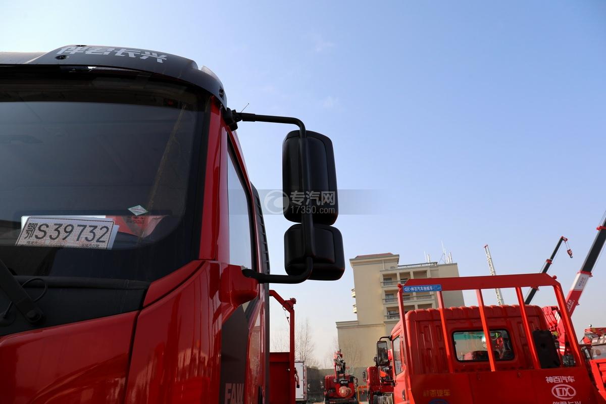 解放J6L单桥国五三一8吨直臂随车吊后视镜